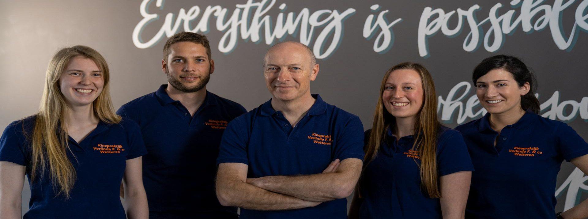 Ons team biedt een uitgebreide multidisciplinaire aanpak.